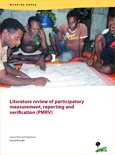 Literature review of participatory measurement, reporting an...